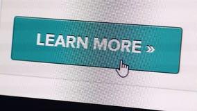 Het pictogram van het Web stock video