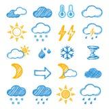 Het pictogram van het weer Royalty-vrije Stock Fotografie