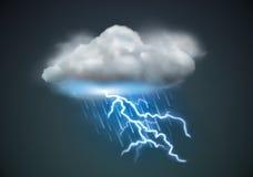 Het pictogram van het weer Stock Fotografie
