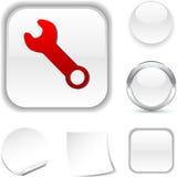 Het pictogram van hulpmiddelen. Royalty-vrije Stock Foto's