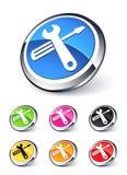 Het pictogram van hulpmiddelen stock illustratie