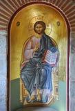 Het Pictogram van Jesus-Christus Stock Afbeelding