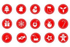 Het pictogram van Kerstmis Royalty-vrije Stock Foto