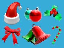 Het Pictogram van Kerstmis Royalty-vrije Stock Foto's