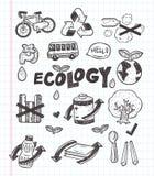 Het pictogram van krabbeleco Stock Foto