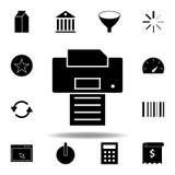 Het pictogram van het melkpak De tekens en de symbolen kunnen voor Web, embleem, mobiele toepassing, UI, UX worden gebruikt stock illustratie