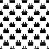 het pictogram van nieuwsankers in Patroonstijl stock illustratie