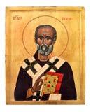 Het Pictogram van Nikola van Sveti Royalty-vrije Stock Afbeeldingen