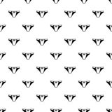 Het pictogram van het onderbroekmeisje, eenvoudige zwarte stijl vector illustratie