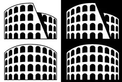 Het Pictogram van Rome - Coliseum Stock Afbeeldingen