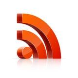 Het pictogram van Rss Royalty-vrije Stock Fotografie