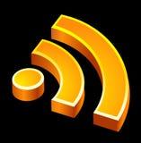 Het pictogram van Rss Stock Fotografie