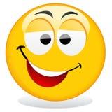 Het pictogram van Smiley Royalty-vrije Stock Foto