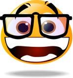 Het pictogram van Smiley Stock Afbeeldingen