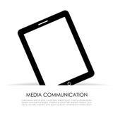 Het pictogram van tabletpc Stock Fotografie