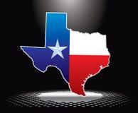 Het pictogram van Texas onder schijnwerper Royalty-vrije Stock Fotografie