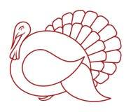 Het pictogram van Turkije Royalty-vrije Stock Afbeelding