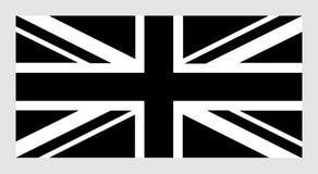 Het Pictogram van Union Jack royalty-vrije illustratie