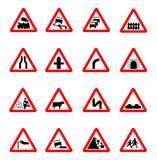 Het pictogram van verkeersteken Royalty-vrije Stock Fotografie