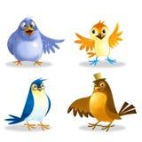 Het pictogram van vogels Royalty-vrije Stock Fotografie
