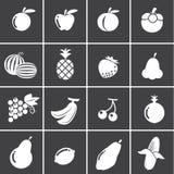 Het pictogram van vruchten Royalty-vrije Stock Afbeelding