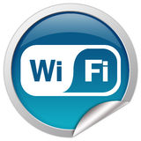 Het pictogram van Wifi Royalty-vrije Stock Afbeeldingen