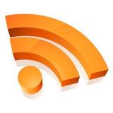 Het pictogram van Wifi Stock Afbeeldingen