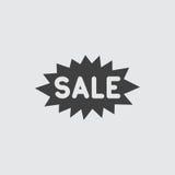 Het pictogramillustratie van het verkoopetiket vector illustratie