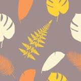 Het pictogrampatroon van bladerenkeerkringen Stock Foto