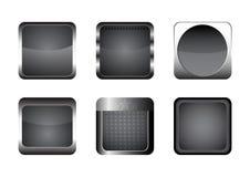 Het pictogramreeks van Apps EPS10 Stock Foto's