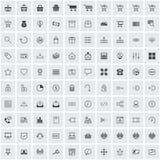 Het pictogramreeks van de elektronische handel royalty-vrije illustratie