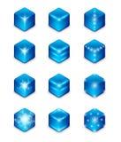 Het pictogramreeks van de energie Stock Fotografie