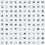 Het pictogramreeks van de liefde Royalty-vrije Stock Afbeelding