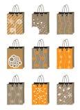 Het pictogramreeks van de zak Royalty-vrije Stock Afbeeldingen