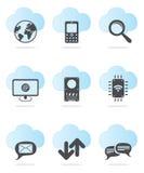 Het pictogramreeks van het Web vector illustratie