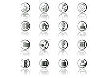Het pictogramreeks van het Web Royalty-vrije Stock Afbeeldingen