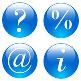 Het pictogramreeks van het Web Stock Foto