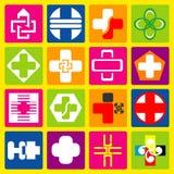 Het pictogramziekenhuis Royalty-vrije Stock Afbeelding