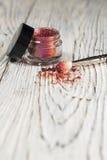 Het pigment, schittert Stock Foto