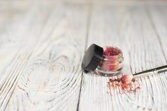 Het pigment, schittert Royalty-vrije Stock Fotografie