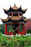 Het pioenpaviljoen Royalty-vrije Stock Afbeelding