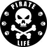 Het piraatleven Royalty-vrije Stock Foto's