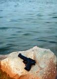 Het pistool van de spion Stock Foto's