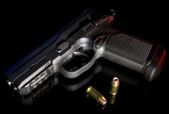 Het pistool van het polymeer stock fotografie
