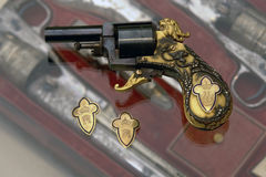 Het pistool van koningsfarouk royalty-vrije stock foto's