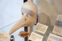 Het plaagmasker Stock Foto
