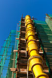 Het plaats-Puin van de bouw Helling Royalty-vrije Stock Afbeeldingen