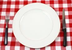 Het plaatsen van de maaltijd Royalty-vrije Stock Afbeeldingen