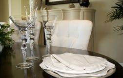 Het Plaatsen van het diner Royalty-vrije Stock Afbeeldingen