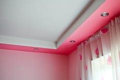 Het plafond in een klassieke stijl het 3d teruggeven Royalty-vrije Stock Foto's